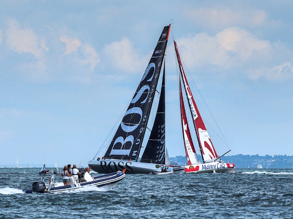 Close Tacking in the Fastnet Race by brian1208