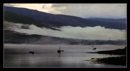Mist Rolling in Over Loch Linnhe