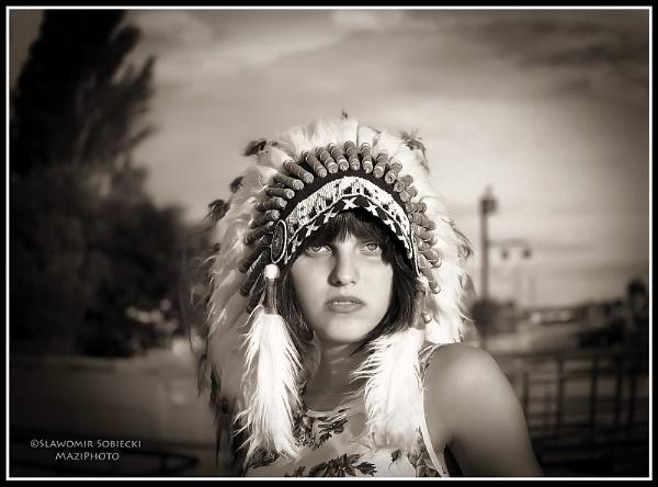 Pocahontas ( Anna Nagayew ) by MaziPhoto