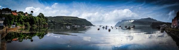 Splendid Portree Harbour by CDSINUK
