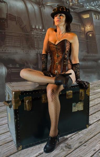 Steampunk Annie by brianmorris153