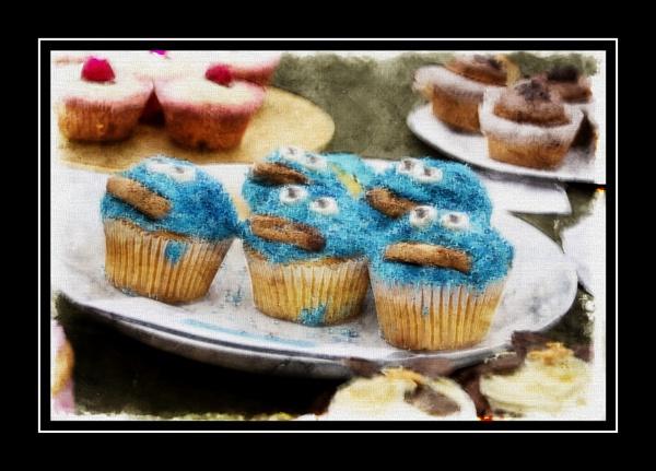 Monster Cupcakes by jacks_19