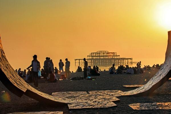 On the Beach by sastimos