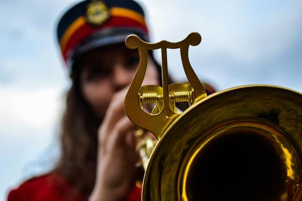 Trumpeter by derrymaine