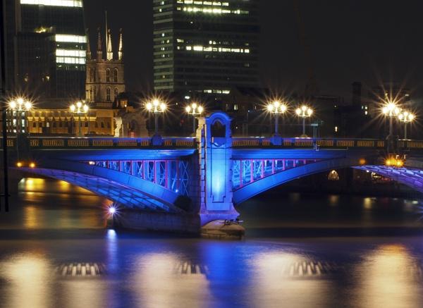 Blackfriars Bridge by victorburnside