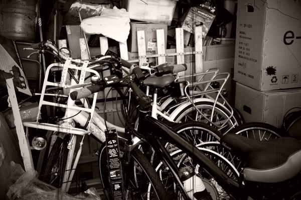 BIKES IN BLACK AND WHITE by rariyanto99