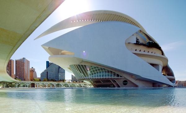 Valencia City of Arts and Sciences by randomrubble