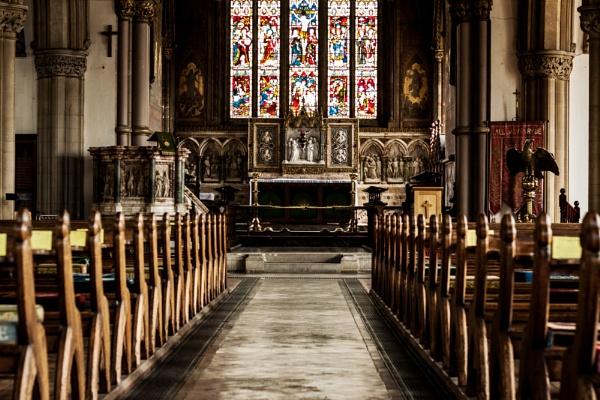 Ryde Parish Church interior by morpheus1955