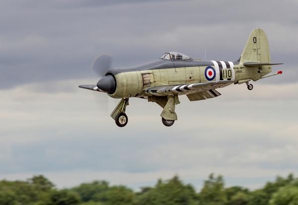 Sea Fury Landing by Grangeflyer
