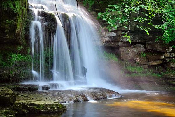 Cauldron Falls, West Burton - The Yorkshire Dales by DLLP