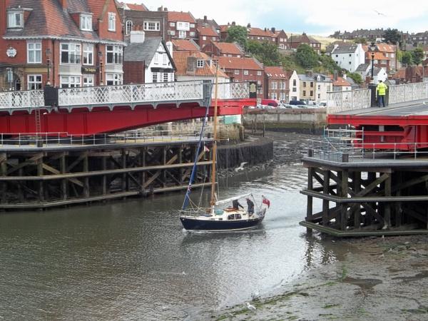 Swing Bridge by Hurstbourne