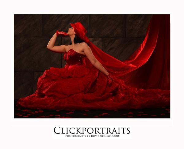 Red Bride by roybridgewood