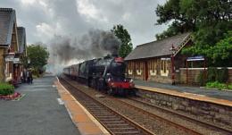 steaming through Horton