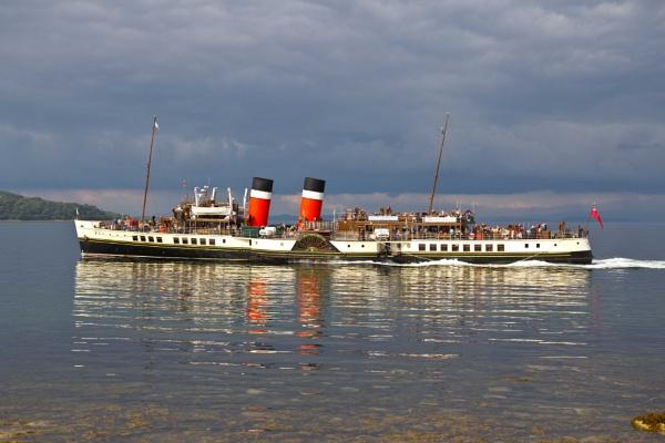 PS Waverley leaving Brodick on the Isle of Arran by killiekrankie
