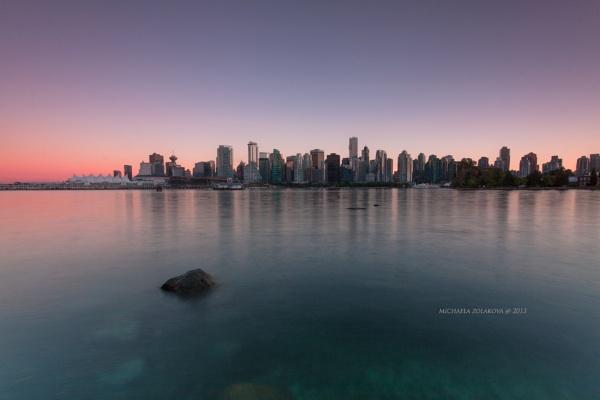 Vancouver Sunset by miskapo