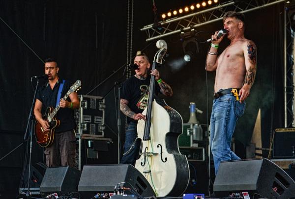 Forever Sun Festival : King Kurt Live. ( Final shot). by UrbaneMagick