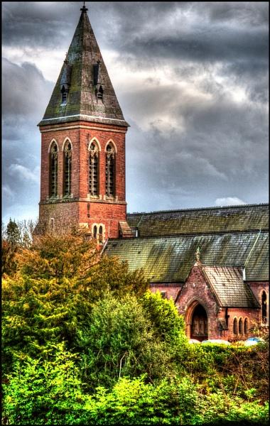 Aldershot Garrison Church in HDR by steve_fdr