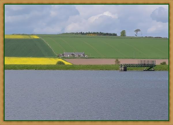 Across the Reservoir by lenocm