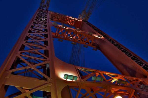 Bridge towers by Davidroid