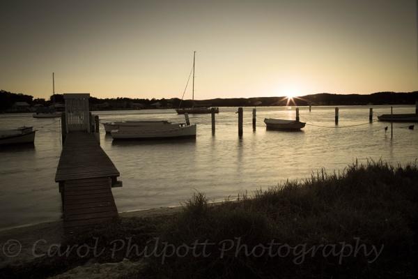 Sunset at Davistown by cazozphul