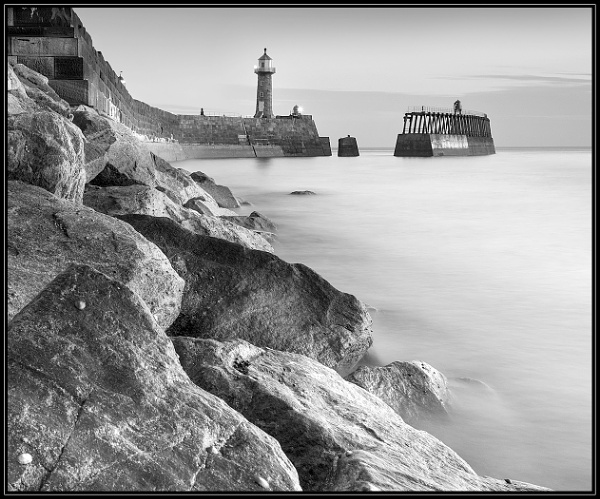 Whitby morning by Brookhousek
