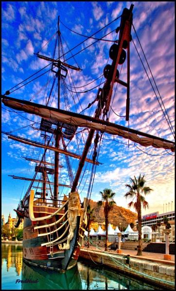 Tall Ship by fredhud