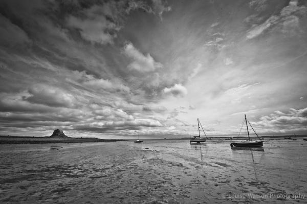 Boat at Lindisfarne 4 by watsonle