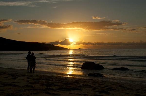 Cornish Sunset by stuhalloran