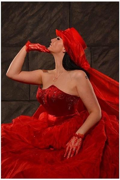 The Red Bride 2 by roybridgewood