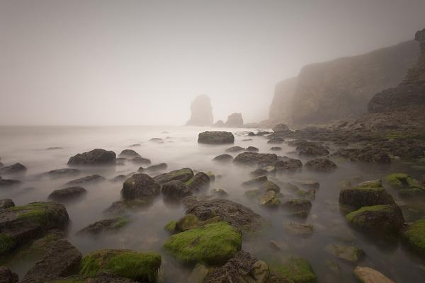 Foggy Coastline by FrankMA