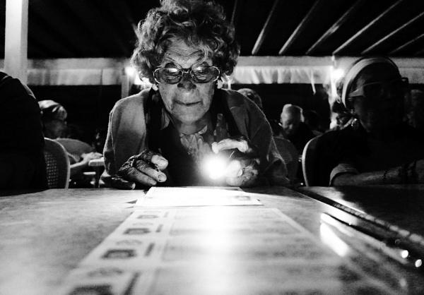Playing Bingo by patri