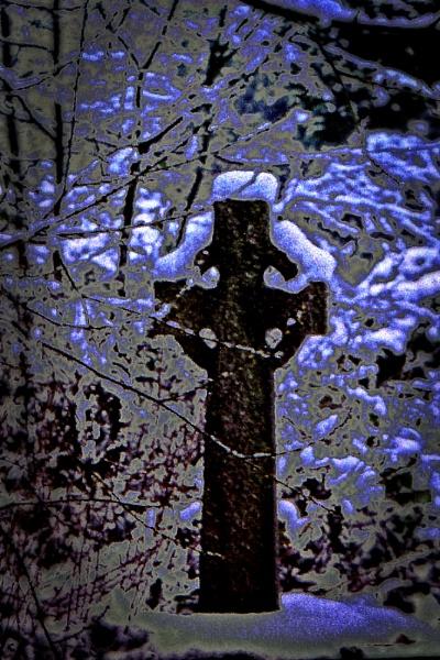 Celtic cross by Petemoyes