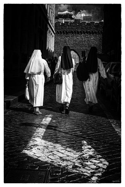 Nuns on the run by neilrwalker