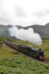 The Hogwarts Express!