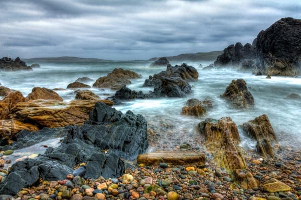 Stormy Seas by LMK_Photography