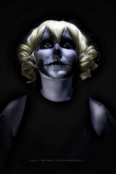 Skull Clown by paulbaybutphotography