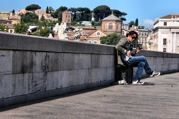 The Street Guitarist by alistairfarrugia