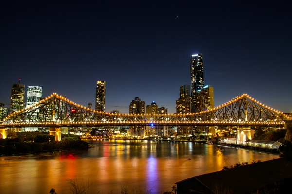 The Story Bridge by 5000eh