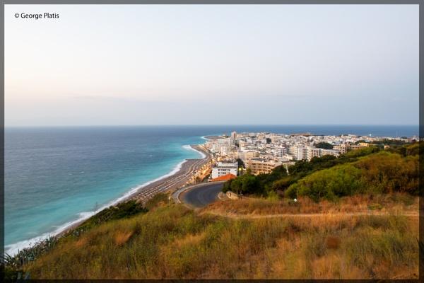 View of Rhodes city by GeorgePlatis