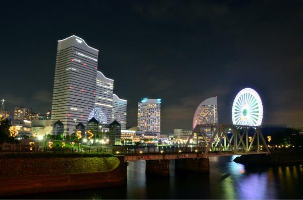Yokohama night lights by johnd006