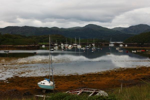 Port Henderson near Gairloch by feefeepootle