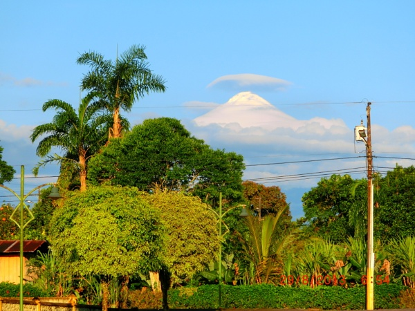 SANGAY VOLCANO - 5230 meters high active volcano