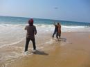 Enjoying Life at Beach