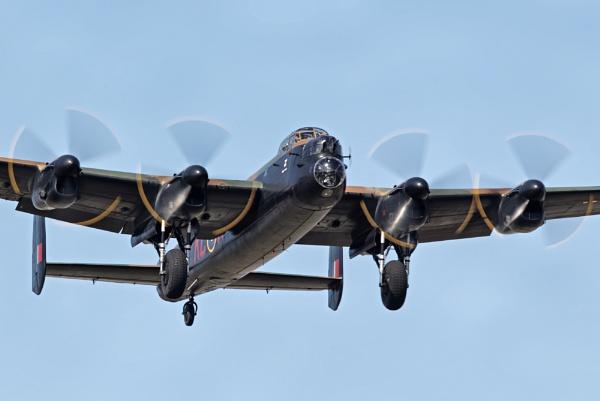 BBMF Avro Lancaster by GlenP