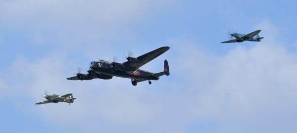 Battle of Britain Memorial Flight by Alec1