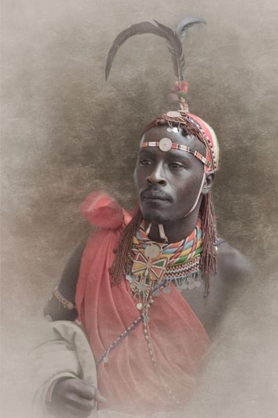 Maasai portrait by EddieDaisy