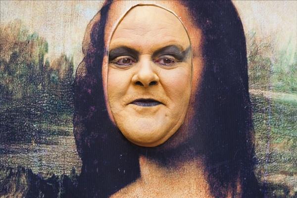 Moaning Lisa (Mona Lisa) by rontear