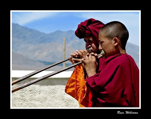 Monks & Horns by hairymonkey