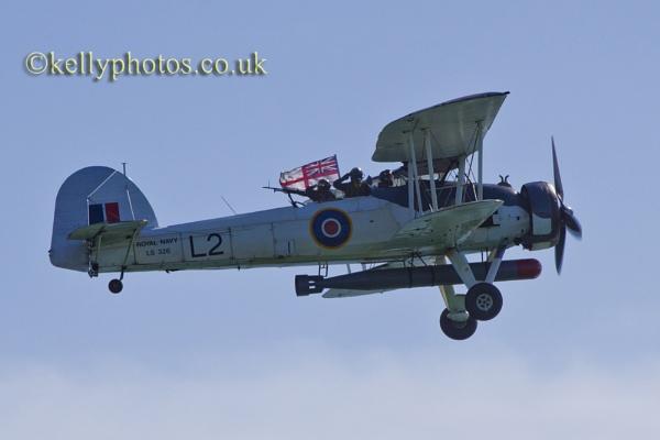 Bournemouth Air Show /Biplane by glendalough