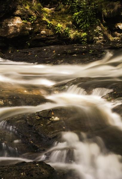 Inversnaid Falls by DavyB